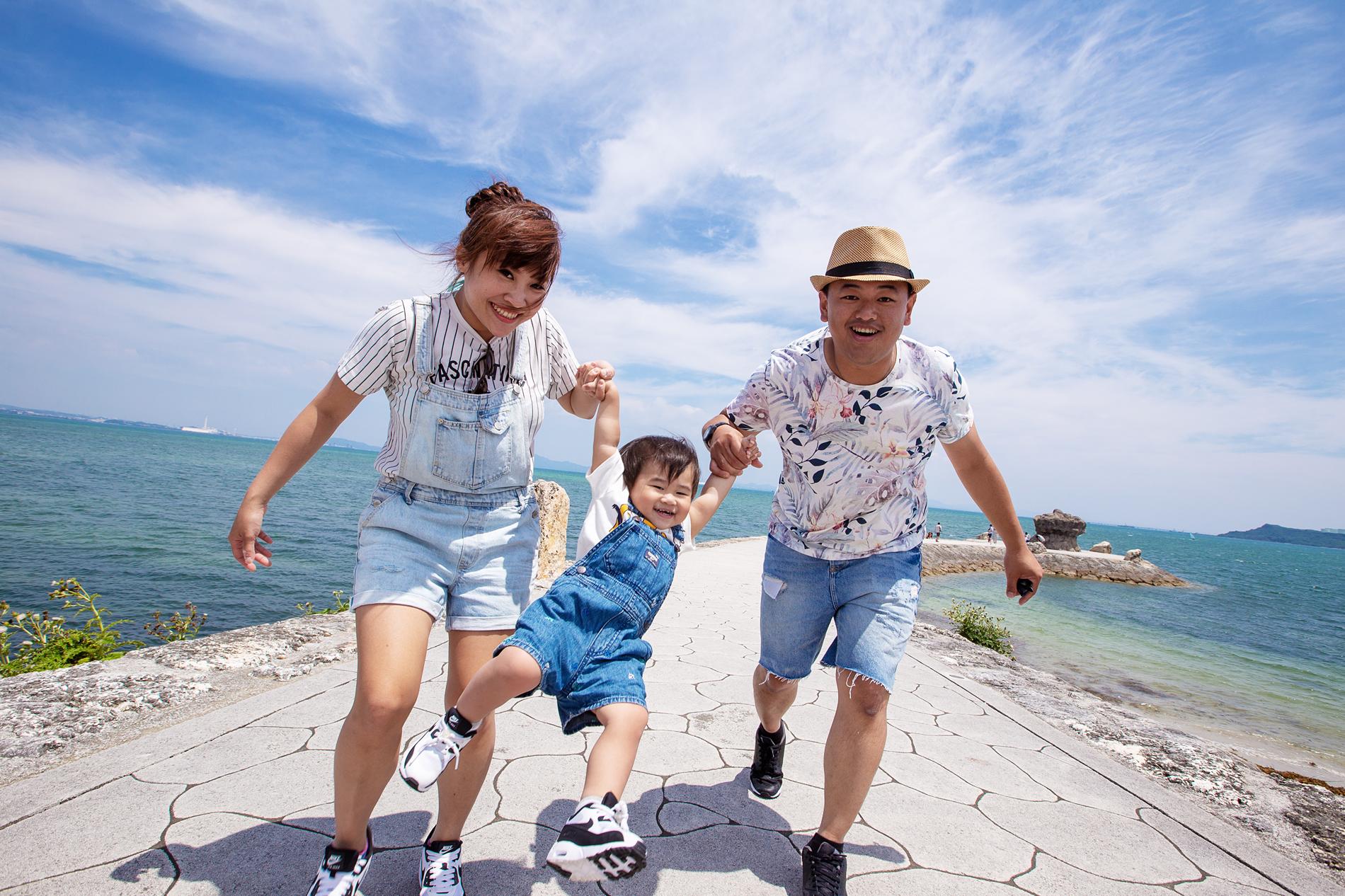 沖繩親子寫真